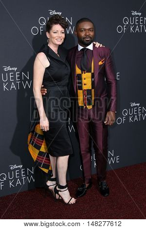 LOS ANGELES - SEP 20:  Jessica Oyelowo, David Oyelowo at the