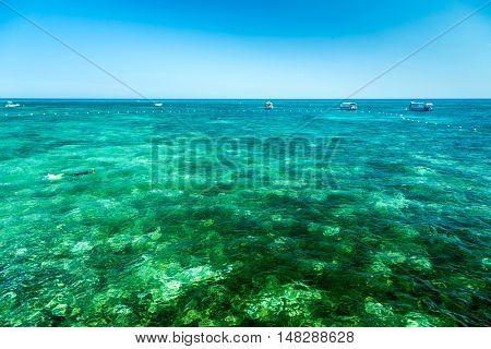 Green Island in Cairns, Queensland, Australia
