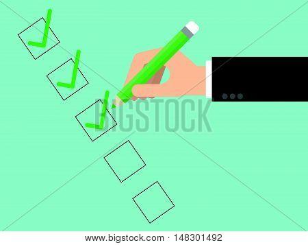 Checklist Close Up