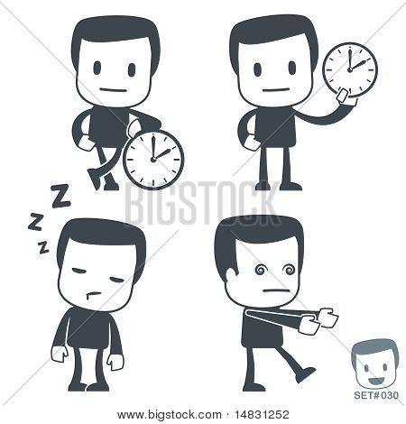 Time. Icon man
