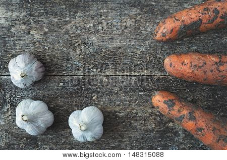 Garlic And Dirty Carrot