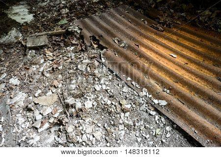 Old Derelict Corrugated Metal