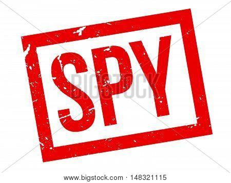 Spy Rubber Stamp