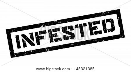 Infested Rubber Stamp
