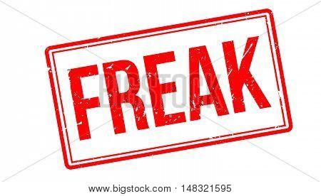 Freak Rubber Stamp
