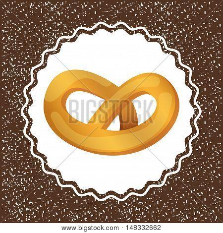 baked goods daily fresh vector illustration design