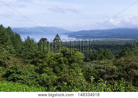 Arenal Lake And Rainforest