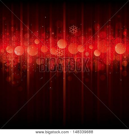 Red abstract  background for Christmas and New Year.