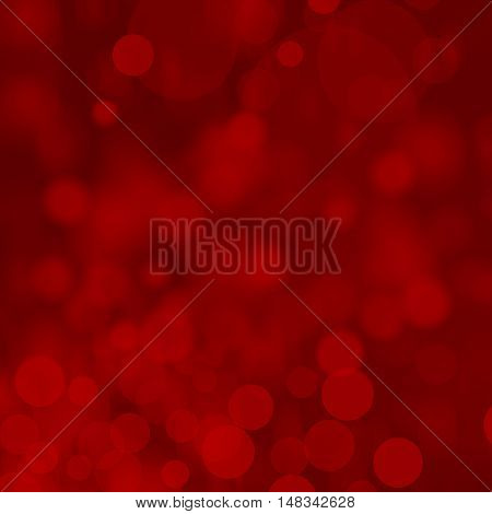 Abstract bokeh red lights for your webdesign.