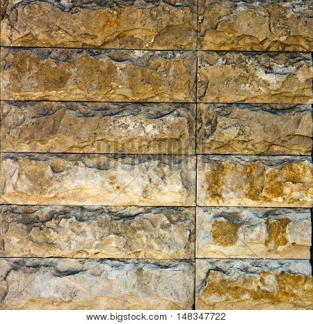 Samples Of The Texture Of Travertine, Indian Stone
