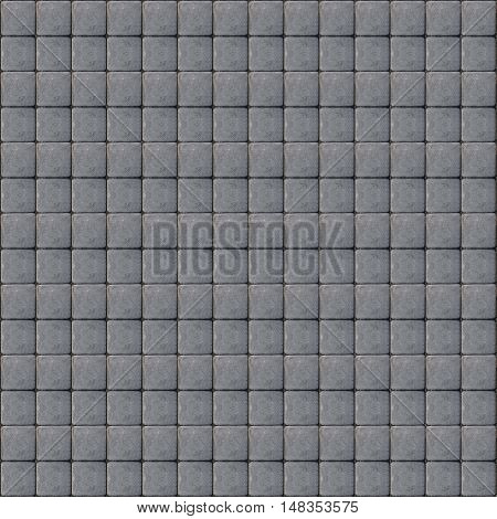 square gray tileable cobblestone texture pattern background