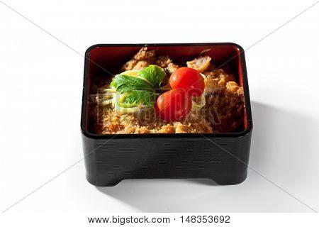 Asian Style Breaded Pork Chops