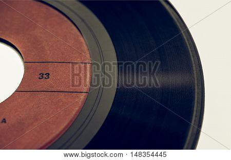Vintage Looking Vinyl Record