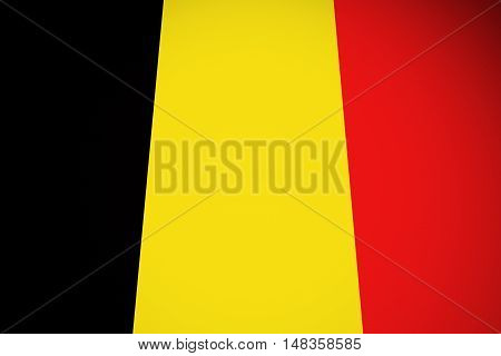 Belgium flag ,original and simple Belgium flag