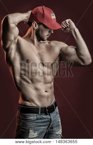 Muscular Athletic Man