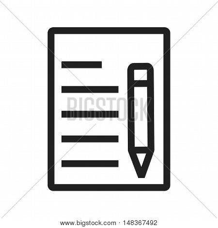 Update, document, office icon vector image. Can also be used for user interface. Suitable for mobile apps, web apps and print media.