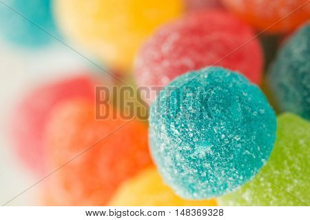 Colorful jellybeans close. Photo to use wallpaper