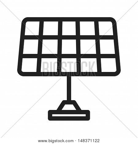 Solar, panel, energy icon vector image. Can also be used for Industrial Process. Suitable for mobile apps, web apps and print media.