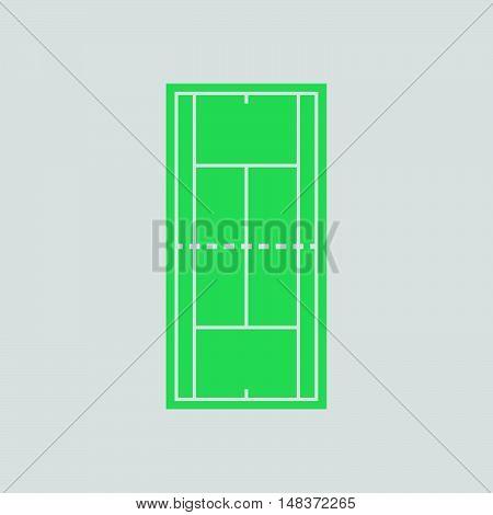 Tennis Field Mark Icon