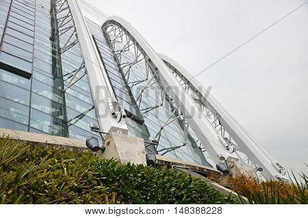 Cloud Forest In Gardens By The Bay