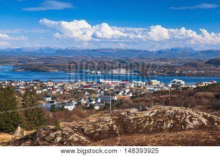 Coastal Norwegian Landscape, Rorvik