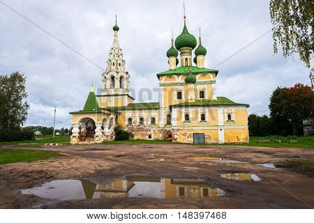 Church of St John the Baptist in Uglich, Russia