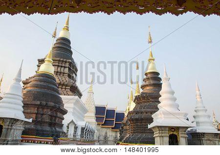 Wat Ban Den chiangmai province Thailand sanctuary.