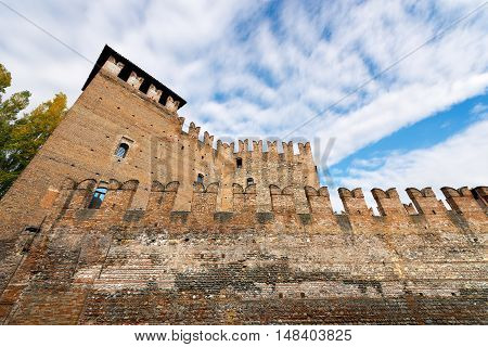 The medieval Castelvecchio 1357 (Old Castle) in Verona (UNESCO world heritage site) - Veneto Italy