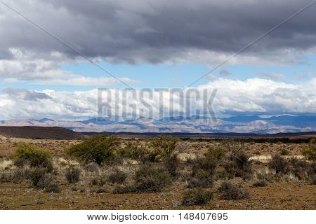 Empty Landscape Of The Karoo