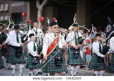 An Old Man Wearing Kilt