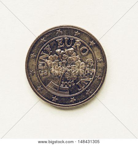 Vintage Austrian 5 Cent Coin