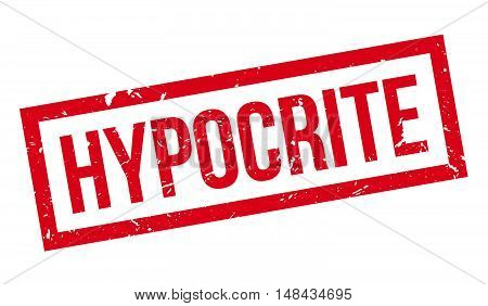 Hypocrite Rubber Stamp