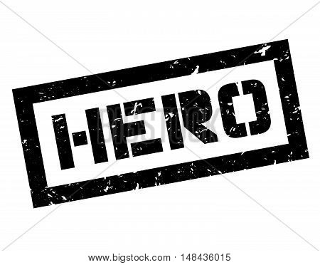 Hero Rubber Stamp