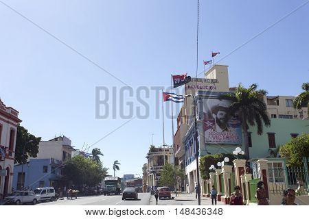 Revolucion Propaganda Billboard Posted By The Goverment