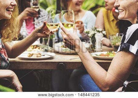 Girlfriends Meet Up Hangout Dining Concept