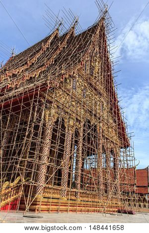 The Arts Thailand temple construction beautiful, outdoors