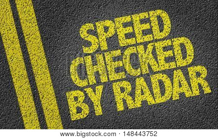 Speed Checked By Radar