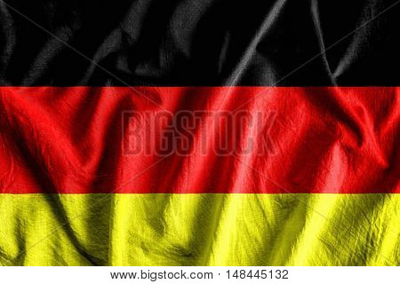 Waving flag of Germany - background flag