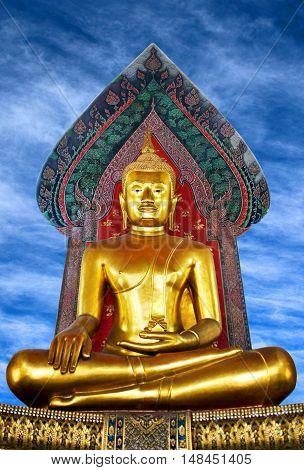 Ancient Golden Buddha