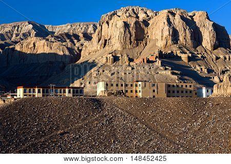 Settlement Zhada (tholling) In Ngari, Tibet