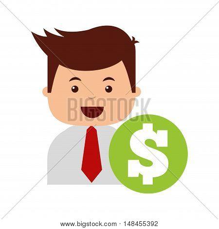 business economy concept icon vector illustration design