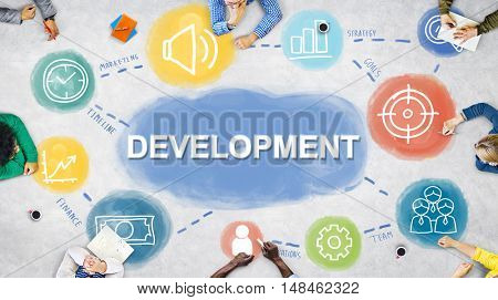 Business Plan Achievement Development Procedures Concept
