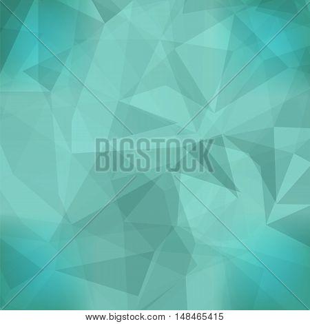 Abstract Azure Pattern. Geometric Azure Futuristic Background