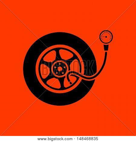 Tire Pressure Gage Icon