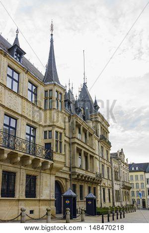 The Historical Palais Grand Ducal