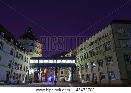 The Beautiful Plaza Around Cite Judiciaire