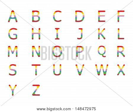 Alfabet Letter Logo Business Template Vector icon