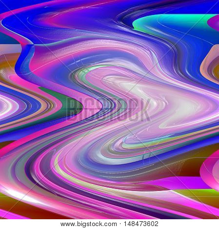 Abstract coloring background of the abstract gradient with visual pinch,twirl,shear and plastic wrap effects.Good for your project design