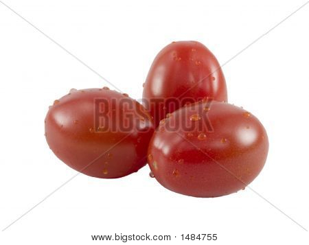 Grape Tomato Close Up