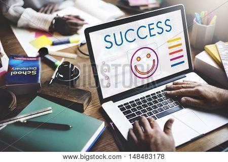 Success Achievement Winning Victory Concept